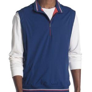 Adidas NWT Blue Wind Golf Vest